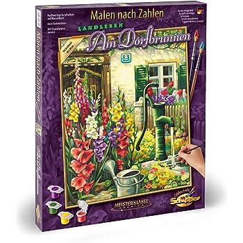 40 x 50 c Malen Nach Zahlen Ein Gruß aus Dem Bauerngarten Schipper 609130790