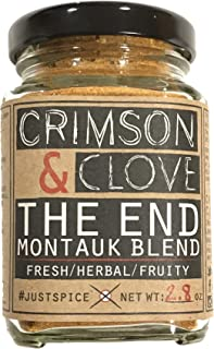 The End Montauk Blend for Chicken, Fish and Vegetables by Crimson and Clove (2.8 oz.) - No Salt, Sugar or MSG
