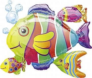 Anagram International Tropical Fish Cluster Foil Pack, 24