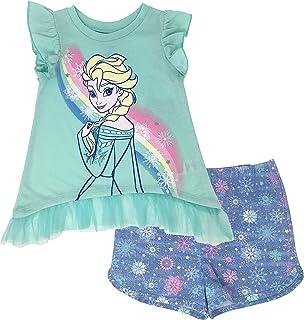 64f1d63741b5 Amazon.com  Elsa - Clothing Sets   Clothing  Clothing
