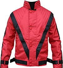 MJ Thriller Jacket Red Cordura
