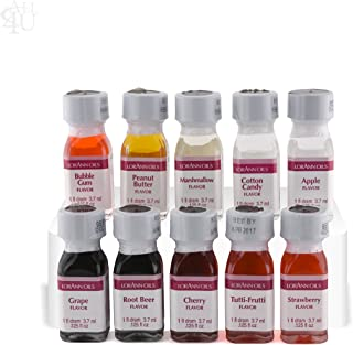 LorAnn Hard Candy Flavoring Oils 10 Pack YOU PICK THE FLAVORS + free gift
