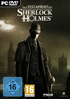 The Testament of Sherlock Holmes [Online Game Code]