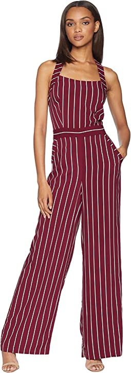 Bordeaux Cindy Stripe