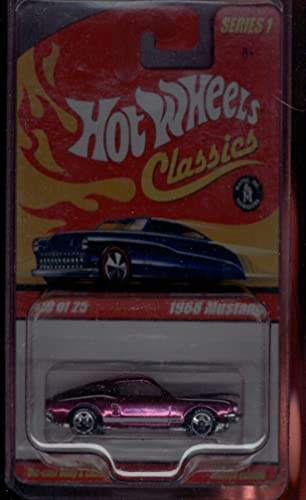 Hot Wheels Classic Series 1 19 of 25 1968 Rosa Mustang 1 64 Scale by Hot Wheels