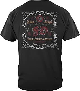 Erazor Bits Firefighter T Shirt Firefighter | Elite Breed Fight for A Cure Firefig Shirt THF2071