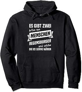 Regensburg Spaß Regensburger Motiv Witz Design Regensburger - Stadt Regensburg Geschenk Spruch Pullover Hoodie