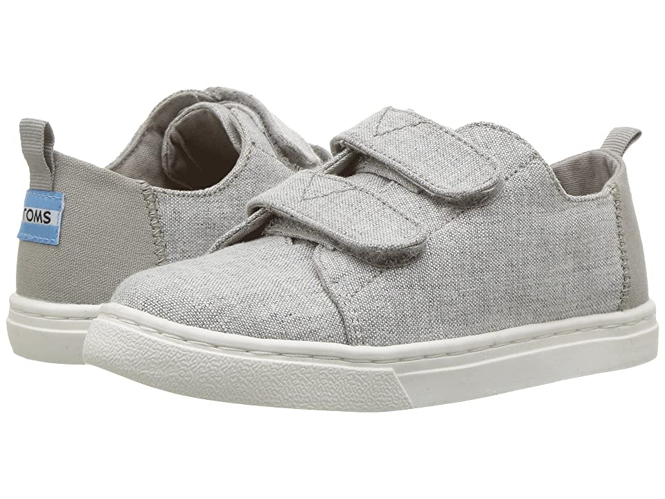 TOMS Kids Lenny (Infant/Toddler/Little Kid) (Drizzle Grey Slub Chambray) Kid