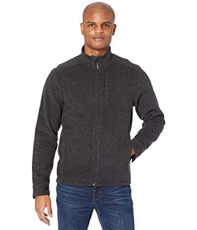 Smartwool Anchor Line Full Zip Jacket (Charcoal Heather) Men