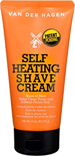 Van Der Hagen Self Heating Shave Cream - 6oz