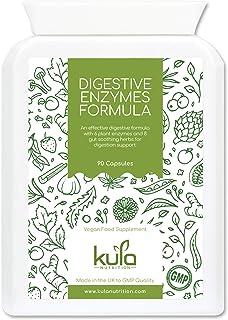 Kula Nutrition Enzimas Digestivas - 90 Cápsulas Veganas