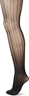 Just My Size Women's Plus Size P2 JMS Chainlink NET Tight