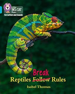 Collins Big Cat Phonics for Letters and Sounds – Reptiles Break Rules: Band 07/Turquoise: Band 7/Turquoise (English Edition)