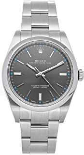 Oyster Perpetual Mechanical (Automatic) Rhodium Dial Mens Watch 114300 (Certified Pre-Owned)