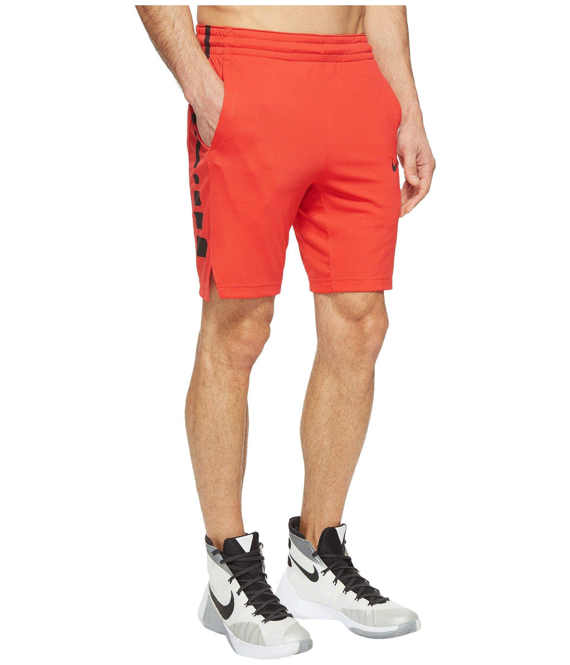 Basketball Red black Nike university Red Short Elite Stripe University wnn7AqECg