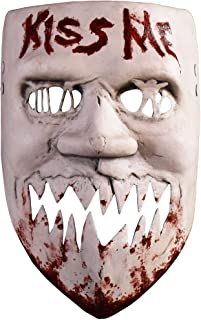 Trick Or Treat Studios The Purge: Election Year Kiss Me Mask for Adults, One Size, Looks Just Like Kimmy The Purger
