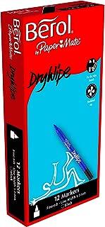 berol chisel tip whiteboard pens