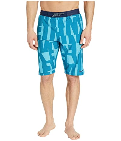Nike 11 Vector Vital Volley Shorts (Green Abyss) Men