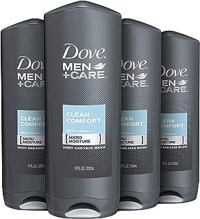 Dove Men Care Body Clean Clean 18 oz 4 Count باکتریها را به خوبی شستشو می دهد در حالی که پوست شما را تغذیه می کند