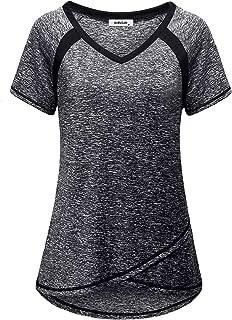 Baomabao Plus Size Womens Long Sleeve Fashion T-Shirt Tops Stripe Knitting Sweater Blouse