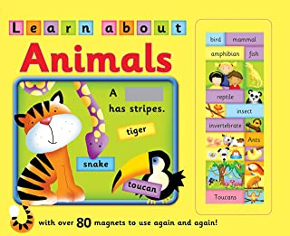 Learn About Animals: with Over 80 Magnets to Use Again and Again!