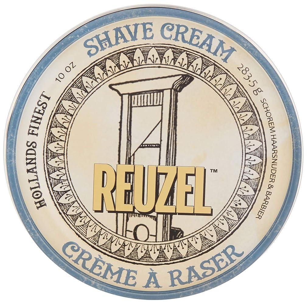 同じ精査する静的Reuzel Shave Cream 283.5g/10oz並行輸入品