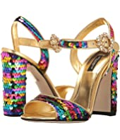 Dolce & Gabbana - Sequin 105mm Sandals