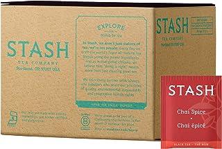 Stash Tea Chai Spice Black Tea, Box of 100 Tea Bags