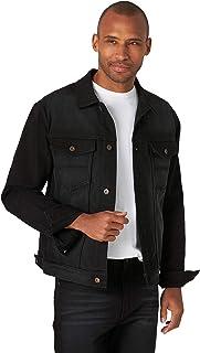 Wrangler Authentics Men's Bonded Fleece Lined Trucker Denim Jacket
