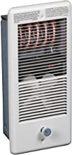 TPI Corporation HF4310TRPW Low Profile Fan Forced Wall Heater, Single Pole Built-in Thermostat, 240/208 Volts, 1000/750 Wa...