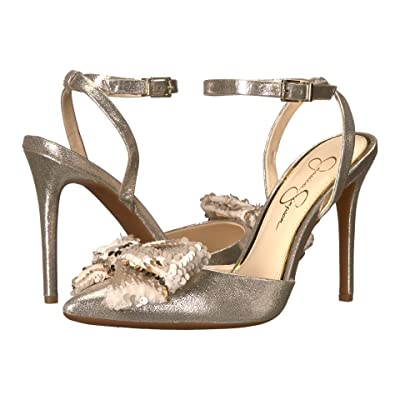 Jessica Simpson Pearlanna (Gilded Gold Shimmer Sand) Women