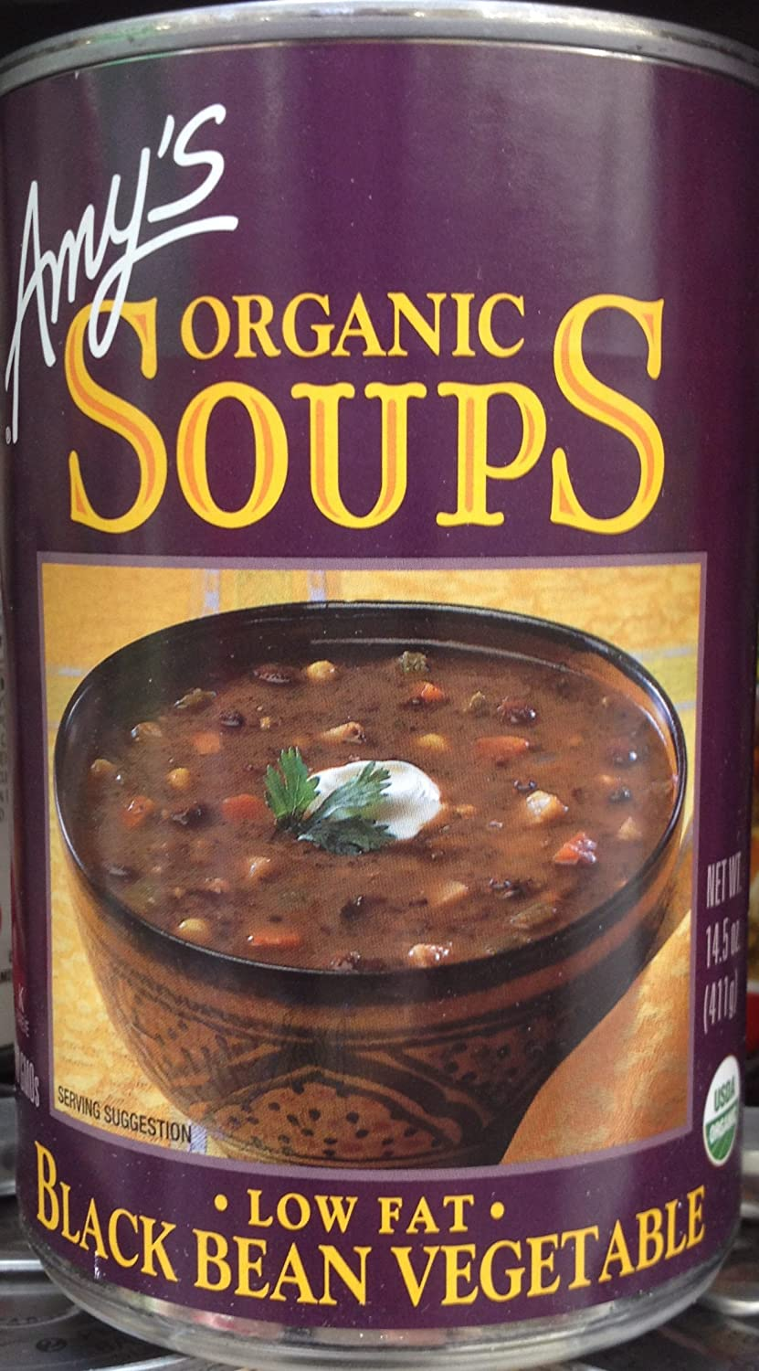 Amy's Organic Soups Black Bean Beauty products Vegetable Can 8 14.5oz Pack Phoenix Mall of