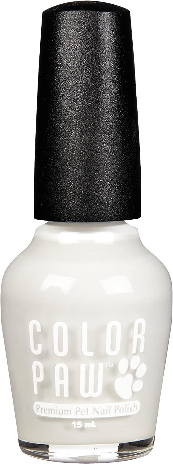 color Paw Brite White Nail Polish
