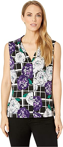 Printed V-Neck Cami