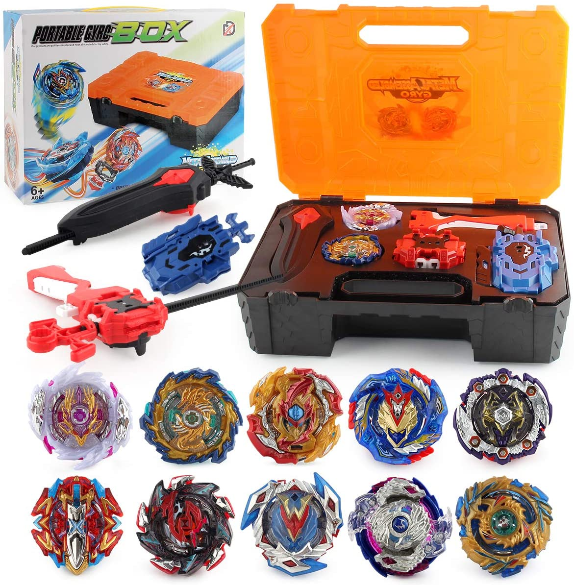 PWTAO Bey Battling Top Burst Launcher Blade Popular brand in the world Set Max 46% OFF Game St Grip Toy
