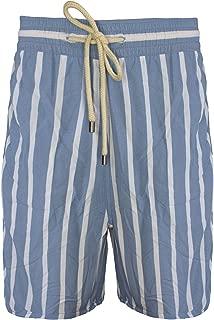 Men's The Classic Swim Trunks, Steel Blue White