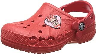 crocs Girl's Baya Minnie Flame Clogs and Mules