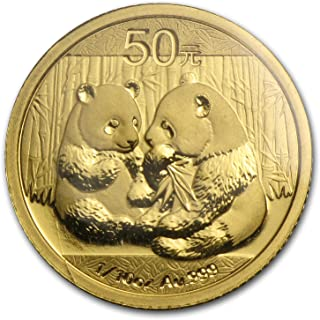 2009 gold panda coin