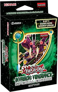 Yu-Gi-Oh! Cards - Invasion: VengeanceSpecial Edition (3 Boosters & 2 Foils)