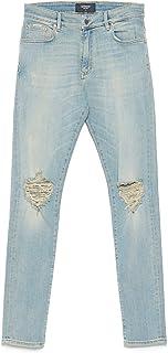 REPRESENT Luxury Fashion Mens M07027PALE Light Blue Jeans | Spring Summer 20