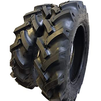 ROAD CREW (2 TIRES + 2 TUBES) 6.00-16 8 PLY RC OZKA KNK-50 R1 Farm Tractor Tire 600168