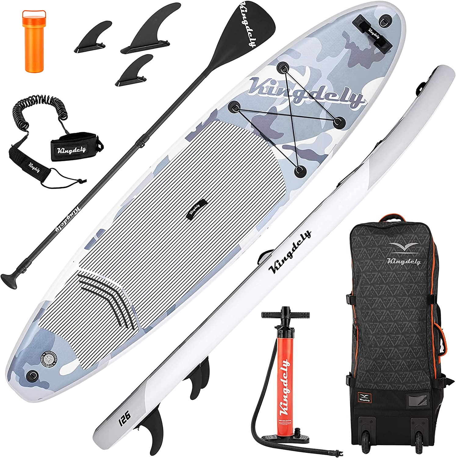 Upgraded 10'6 Inflatable Stand Up Paddleboards Paddle Max 68% OFF shopping Board wit