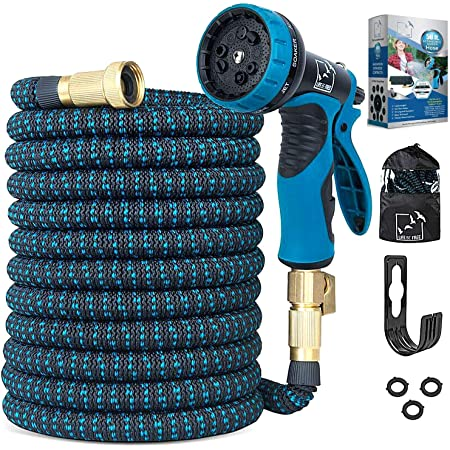 100FT Expandable Garden Hose Durable No-Kink Flexible Water 100FT-B