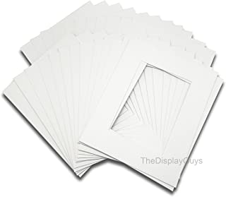 The Display Guys Pack of 25 Pre-Cut 8x10