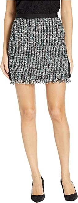 HW Multi Textured Tweed Skirt