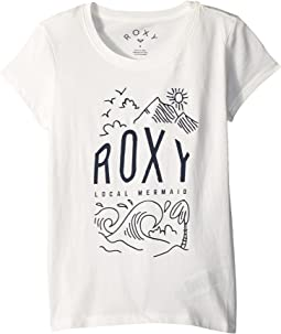 Roxy Kids See You Again Night Surf T-Shirt (Big Kids)