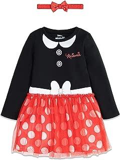 Disney Girls Costume Dress with Headband: Incredibles, Minnie, Jessie & Vampirina