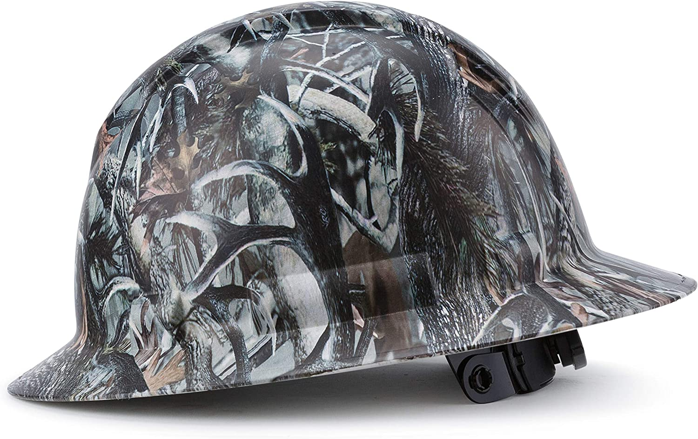 Full Brim Customized Pyramex Hard Max 57% OFF Custom Hidden Camo Antler Hat Ranking TOP1
