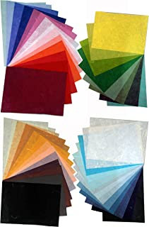 40 Sheets Mulberry Paper Sheet Design Craft Hand Made Art Tissue Japanese Origami Washi Wholesale Bulk Sale Unryu Suuppliers Thailand Prouducts Card Making Hanji Japanese Collage Print RatreeSHOP