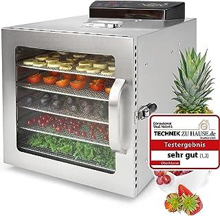 Deshydrateur Alimentaire Inox VITA5 Nobel S • Déshydrateur 6 Plateaux • Minuteur 24 heures • Température de 30 à 90ºC • 40...